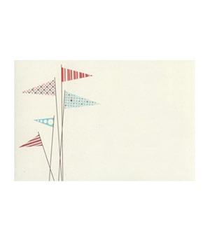 Snow and Graham Pennants card