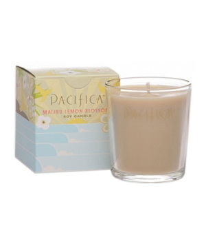 Pacifica Malibu Lemon Blossom Soy Candle