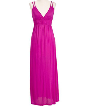 Old Navy Jersey Knit Maxi Dress