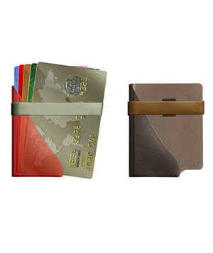 Saddle Lite Card Case