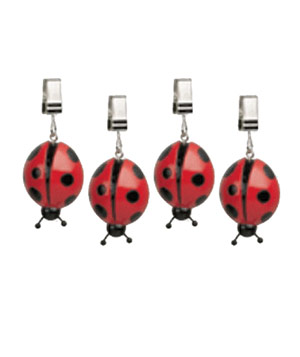 Ladybug Tablecloth Weights
