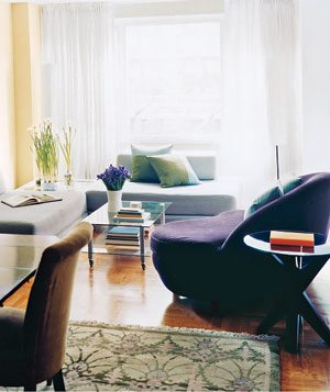 Modern Living Room Makeovers 14 living-room and dining-room makeovers - real simple