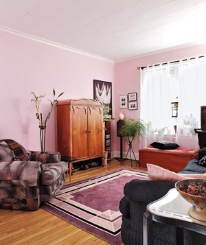 Pink Living Room Part 85