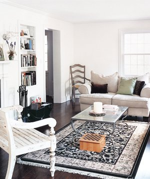 14 living room and dining room makeovers rh realsimple com trends in lounge rooms wallpaper in lounge rooms