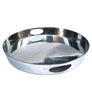 Apartment 48 Polished Aluminum Tray