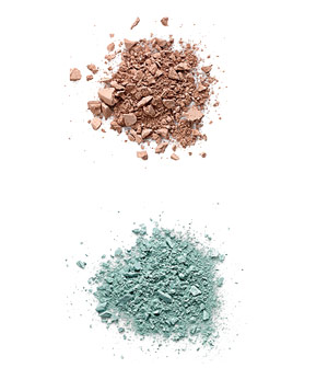 Face Stockholm Matte Eyeshadow in Liberty and MAC Cosmetics Fashionflower Eye Shadow in Aqua