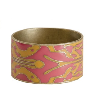 Lucky Brand Jeans Ikat Print Enamel Bangle