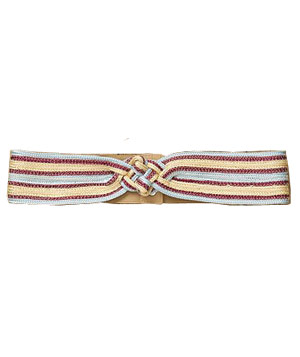 Free People Festival Stripe Waist Belt