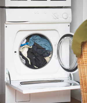 Clothing In Dryer