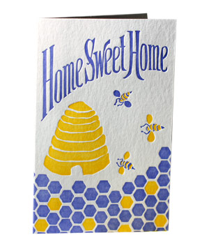 Smock Paper Home Sweet Home card