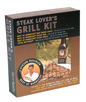Steven Raichlen Steak Lover's Grill Kit