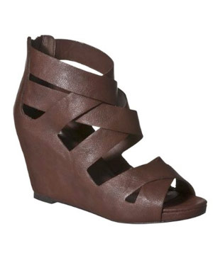 Mossimo Pilar Strappy Wedge Sandals