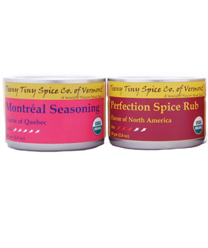 Teeny Tiny Spice Company Montreal Seasoning and Perfection Spice Rub