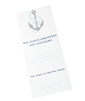 Wiley Valentine Anchor card