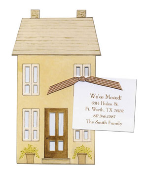 Sarah LeClere Home Sweet Home card