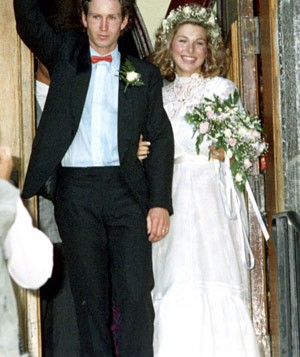 Wedding of John McEnroe and Tatum O'Neal