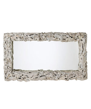 Bodega driftwood mirror by Arteriors Home