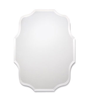 Small Eleanor frameless mirror