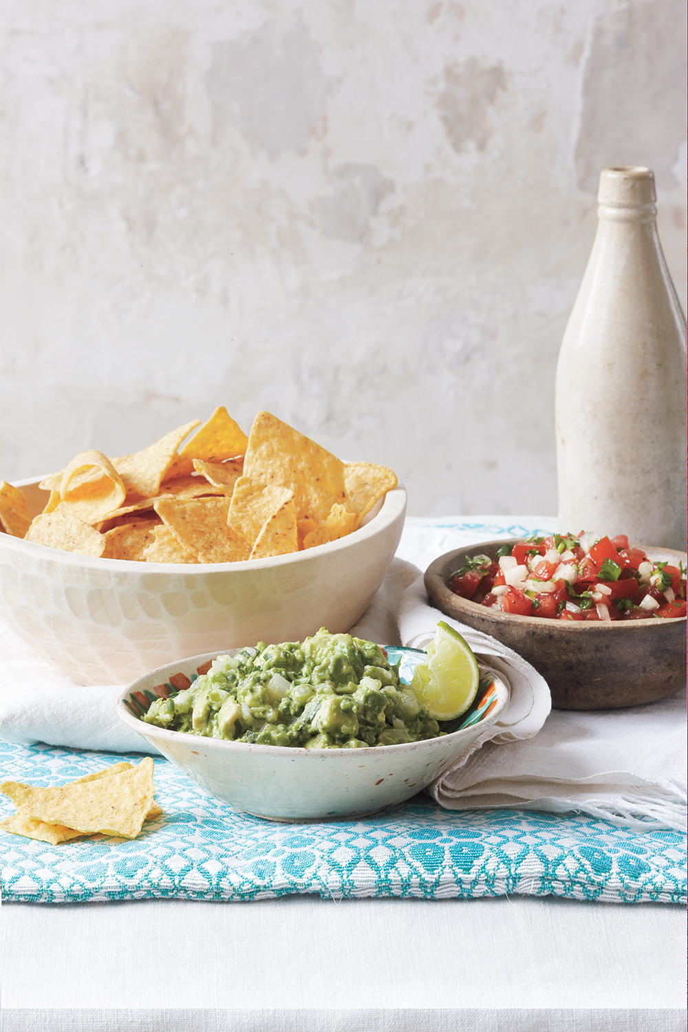 Easy Guacamole and Pico de Gallo
