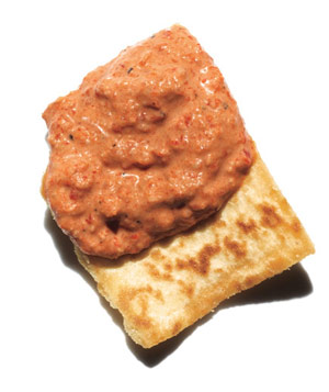 Red Pepper, Walnut, and Tahini Dip