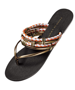 Chinese Laundry braided-fabric sandals