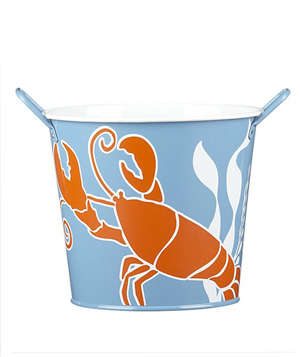Seafood shell bucket
