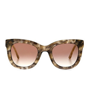 C. Wonder Chunky Square Cat Eye Sunglasses