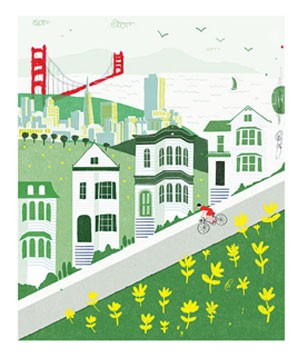 Illustration of San Francisco