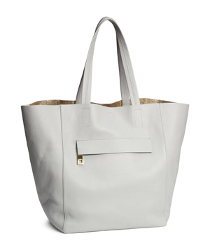 H&M Leather Shopper