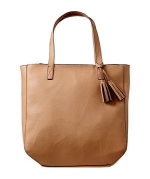 Old Navy Tassel Zip Tote