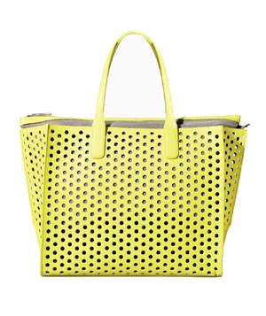 Zara Perforated Shopper Bag