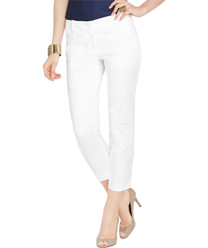 Ann Taylor Cotton Twill Perfect Capris