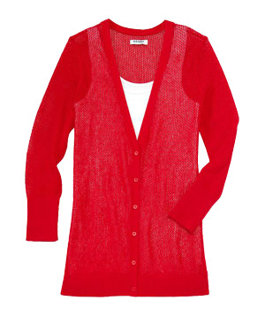Old Navy Open-Stitch Cardigan