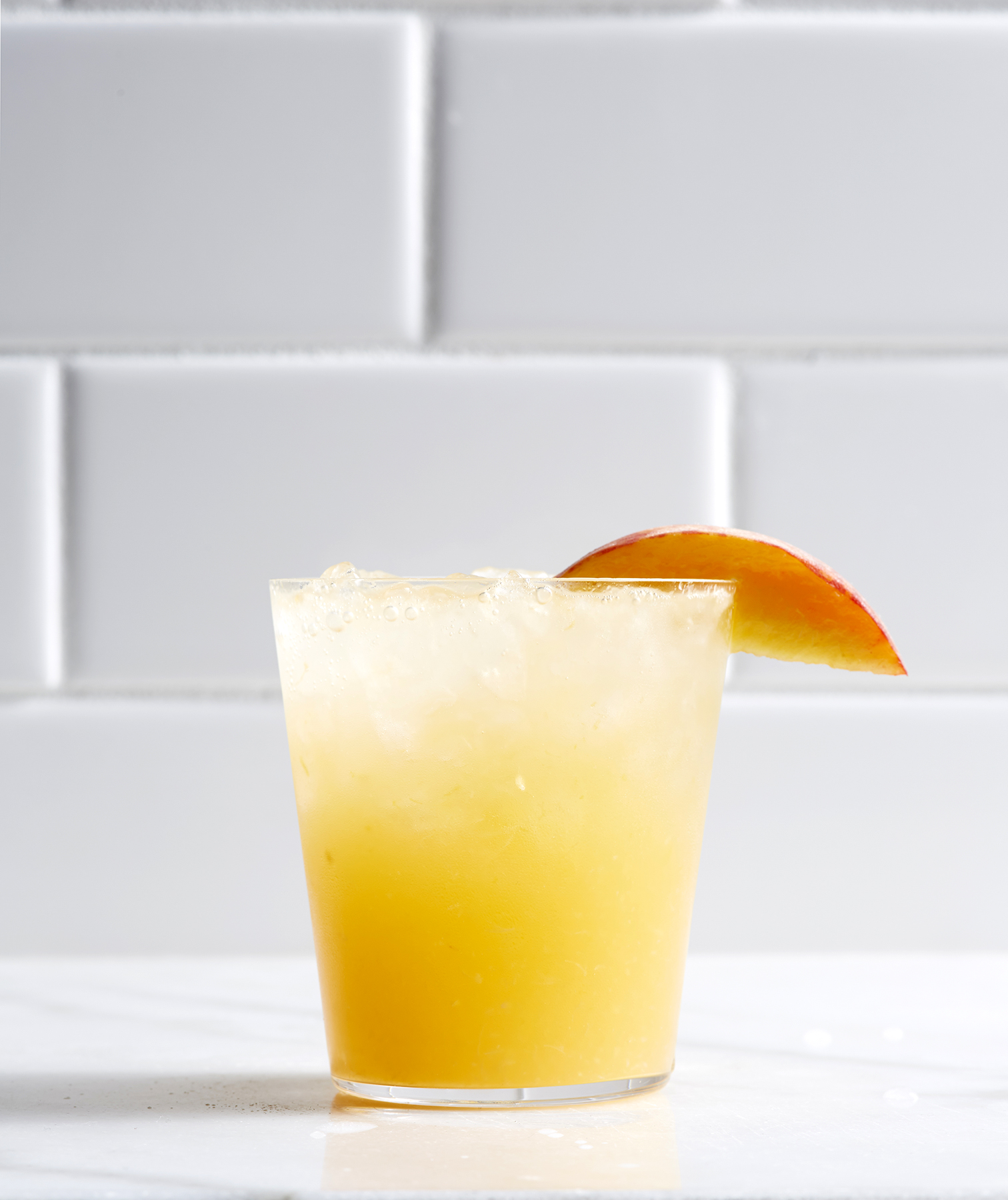 Peach and Ginger Shrub