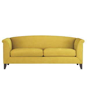 Crate and Barrel Silhouette sofa