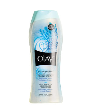 Olay Purely Pristine Cleansing Body Wash With Microbeads
