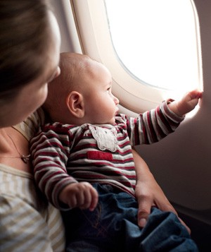 PSA: You Do Not Need to Apologize For Your Fussy Baby on Airplanes