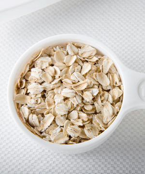 Oatmeal (about $4 per 42-ounce can or $0.18 per ½-cup dry serving)