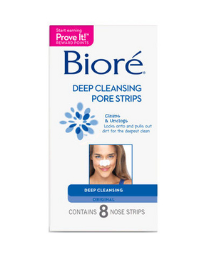 Biore Deep Cleansing Pore Strip Combo Pack