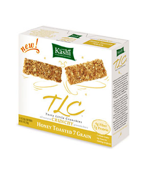 Kashi TLC Crunchy Granola Bars in Honey Toasted 7 Grain
