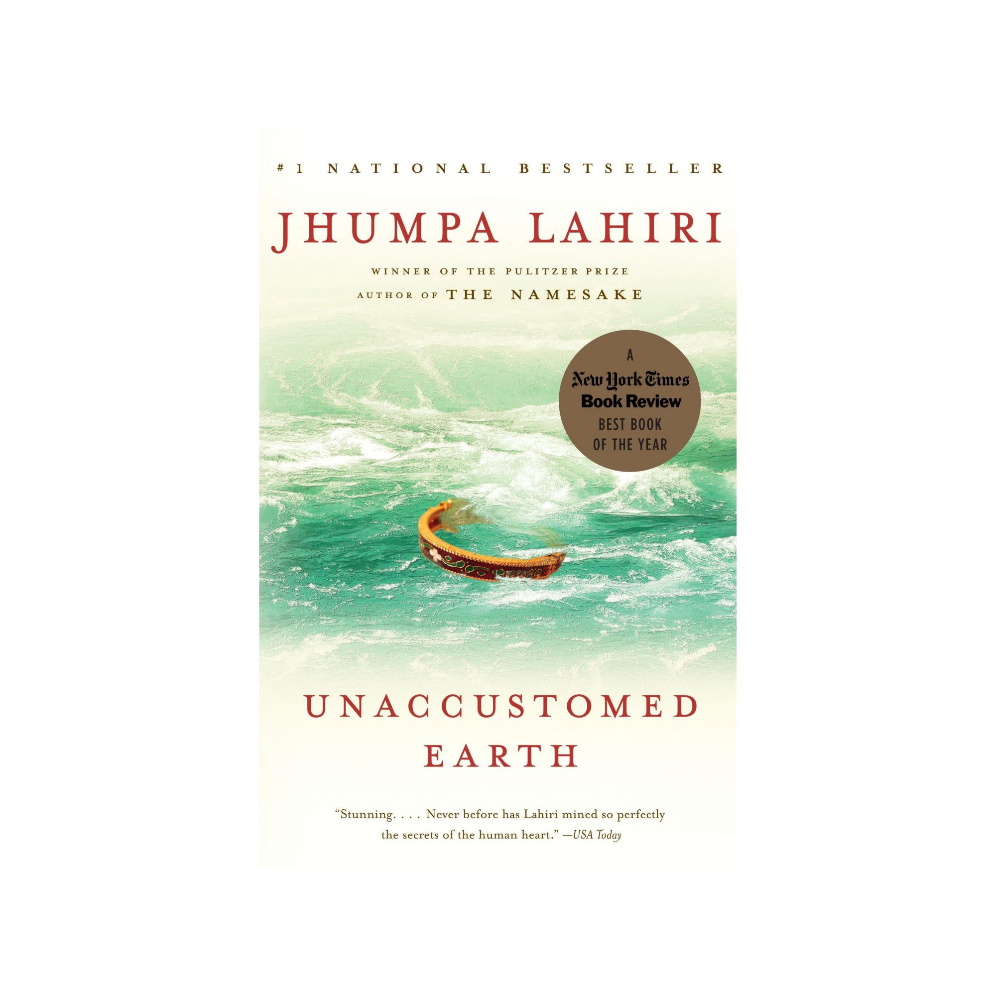 Unaccustomed Earth, by Jhumpa Lahiri
