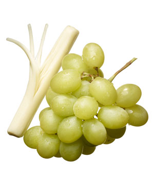 Grapes and string cheese