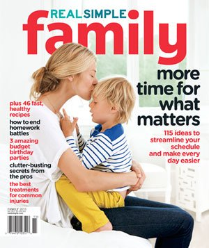 Fall Family cover image of mother kissing forehead of son