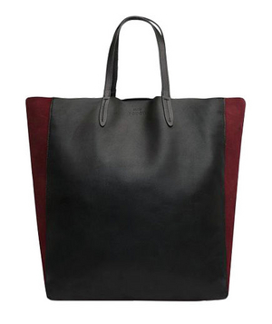 Mango Touch – Leather and Suede Shopper Bag