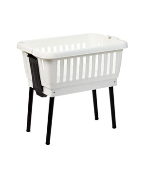 Laundry Basket with Folding Legs