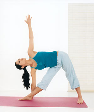 stretching  yoga  real simple