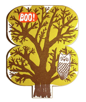 Egg Press Owl Tree