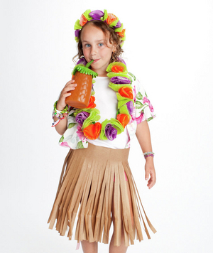 Hula girl costume