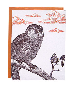 Midnight Owl card