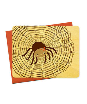 Sally Spider card
